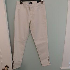 American Eagle leggings 8, white
